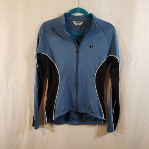 Pearl Izumi M Cycling Jacket jersey full zip blue